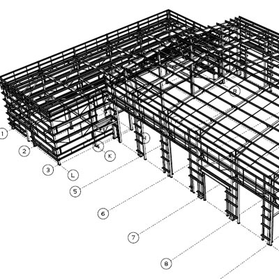 Design and build steel structure contractors in cramlington